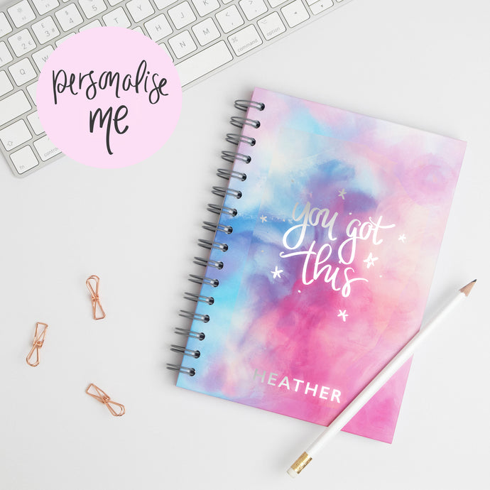 YOU GOT THIS - LUXE PERSONALISED NOTEBOOK