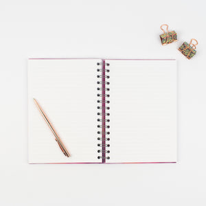 ANY TEXT YOU LIKE - LUXE PERSONALISED NOTEBOOK - Rebecca Yates