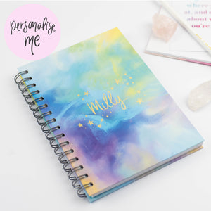 NAME IN THE STARS - LUXE PERSONALISED NOTEBOOK