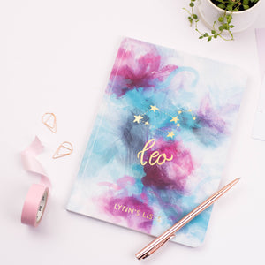 STAR SIGN - PERSONALISED SOFTBACK NOTEBOOK