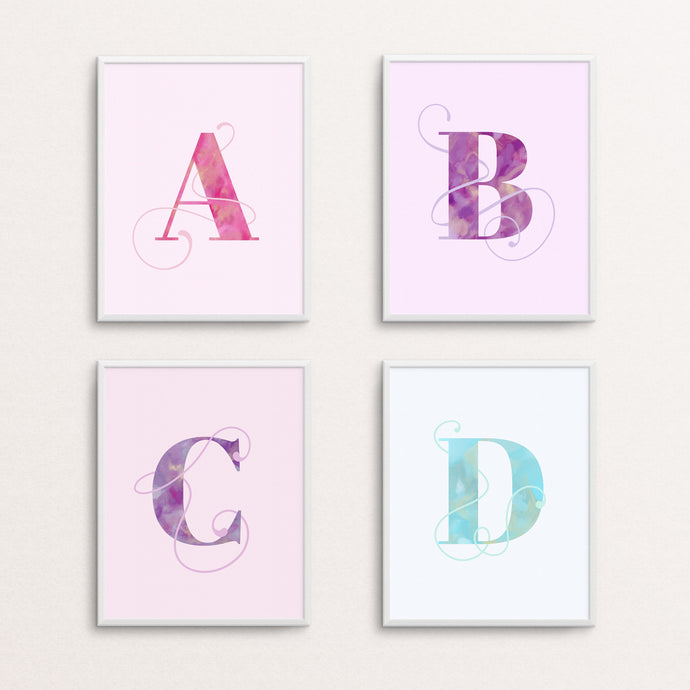 LETTER - TYPOGRAPHY PRINT