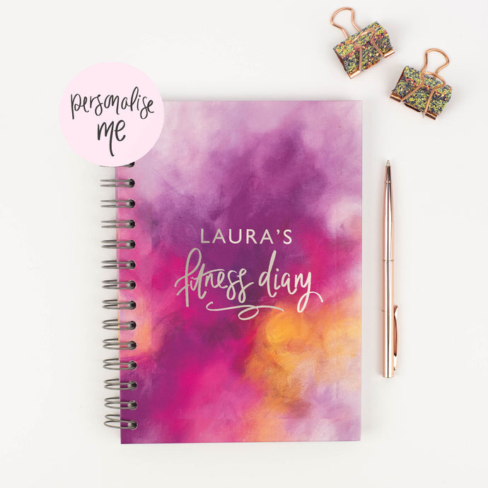 MY FITNESS DIARY - PERSONALISED FITNESS JOURNAL