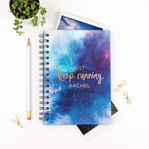 JUST KEEP RUNNING - PERSONALISED FITNESS JOURNAL
