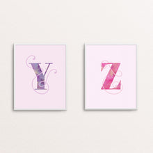 Load image into Gallery viewer, LETTER - TYPOGRAPHY PRINT