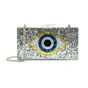 Evil Eye Acrylic Box Bag