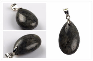 Pendants pendulum crystal  from natural stone