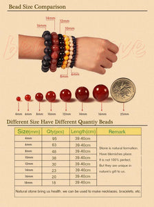 natural stone beads colorful