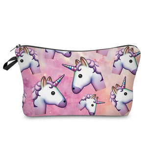 Unicorn cosmetic bags