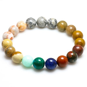 Bracelet natural stone for women men