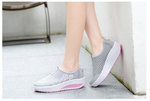 Ladies shoes mesh for summer
