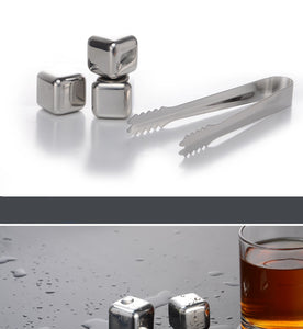 Stainless steel ice