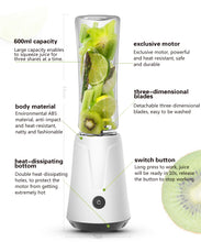 Load image into Gallery viewer, Portable electric juicer blender