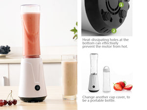 Portable electric juicer blender