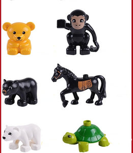 Building  animals educational toys