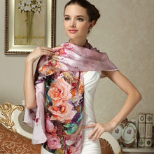 Load image into Gallery viewer, Scarf shawl silk