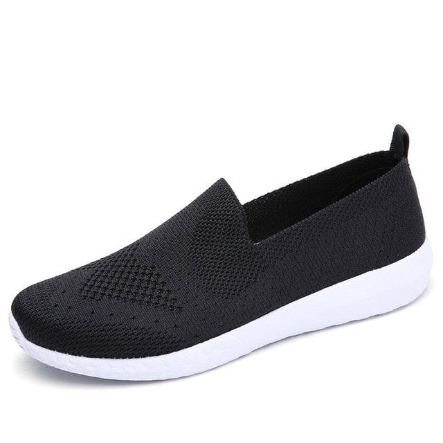 Sneakers mesh flats shoes casual