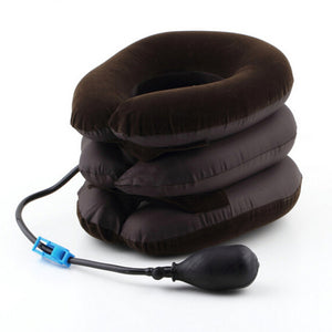 Neck head relief stretcher