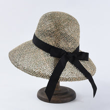 Load image into Gallery viewer, Summer hat straw beach  for women