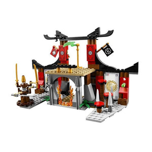 Dragon building blocks toys model