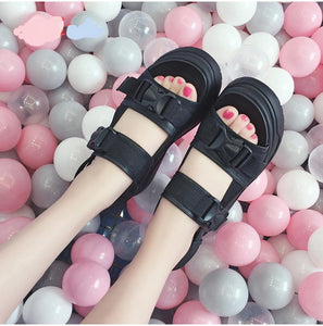 Sandals high heels shoes women