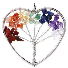 Load image into Gallery viewer, Necklaces pendants natural stone tree of life