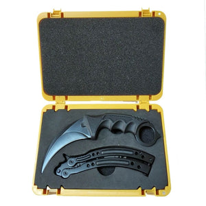 Butterfly game knives set