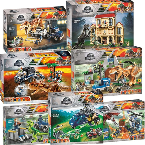 Jurassic world dinosaur set
