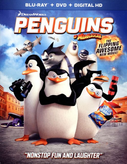 Penguins of Madagascar [Blu-ray/DVD + HD Digital]
