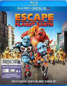 Escape From Planet Earth [Blu-ray/HD Digital]