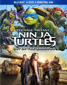 Teenage Mutant Ninja Turtles: Out of the Shadows (Blu-ray +DVD+Digital HD)