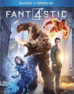 Fantastic Four (Blu-ray + Digital)