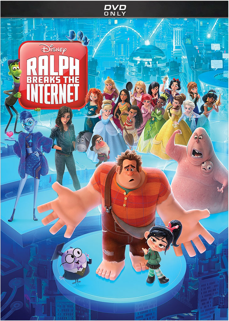 Ralph Breaks The Internet (DVD)