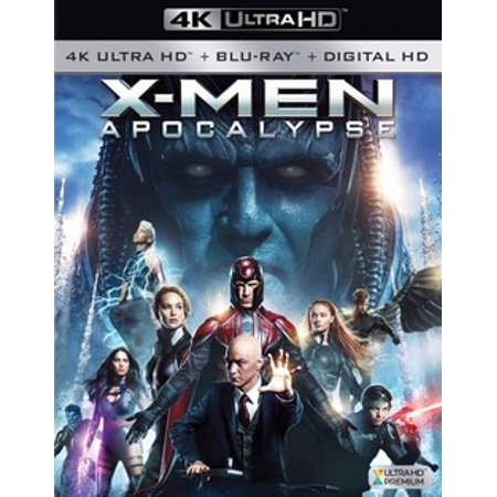 X-Men Apocalypse (4K Ultra HD + Blu-ray + Digital HD)