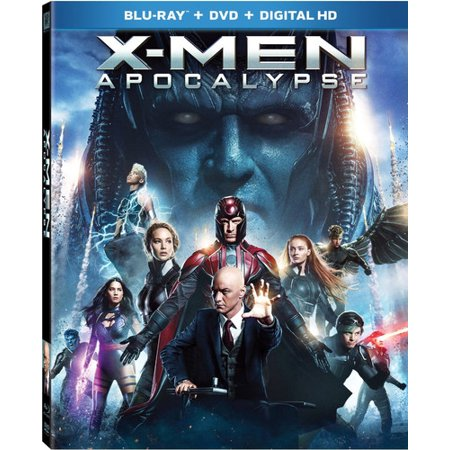 X-Men: Apocalypse (Blu-ray/DVD + Digital HD)