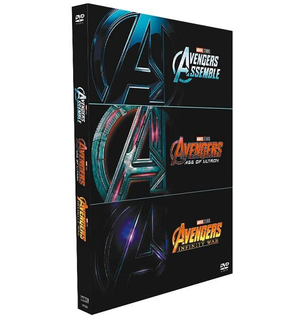 Avengers: 3 Movie Collection [DVD]
