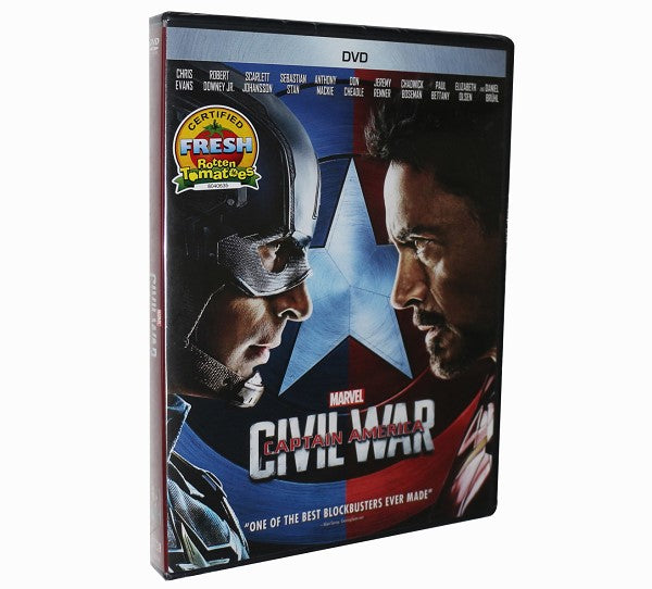 Marvel's Captain America: Civil War [DVD]
