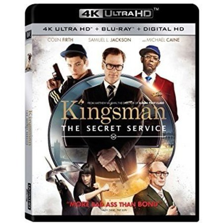 Kingsman The Secret Service (4K Ultra HD + Blu-ray + Digital HD)