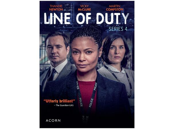 Line of Duty: Series 4 [DVD]