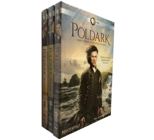 POLDARK Seasons 1-3 [DVD]