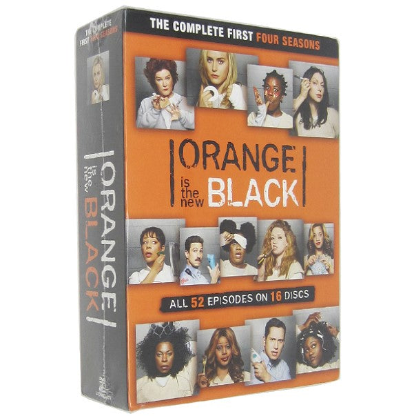 Orange Is the New Black: Season 1-4 [DVD]