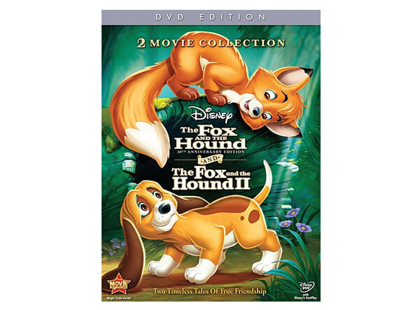 The Fox And The Hound/ The Fox And The Hound II (DVD) 30th Anniversay Edition