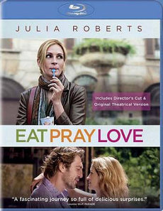 Eat Pray Love [Blu-ray Disc, Theatrical Version/Extended Cut]