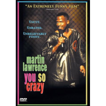 Martin Lawrence You So Crazy (DVD)