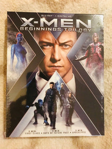 X-Men Beginnings Trilogy (Blu Ray + Digital HD)