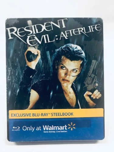 Resident Evil: Afterlife:  Walmart Steel book Edition [Blu-ray]