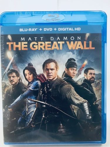 The Great Wall [Blu-ray/DVD+ Digital HD]