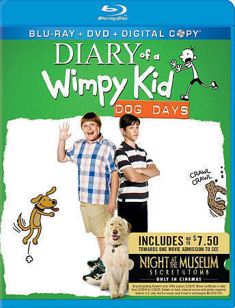 Diary of a Wimpy Kid: Dog Days [Blu-ray/DVD]