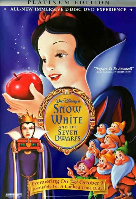 Snow White and the Seven Dwarfs (2-Disc Platinum) [DVD]