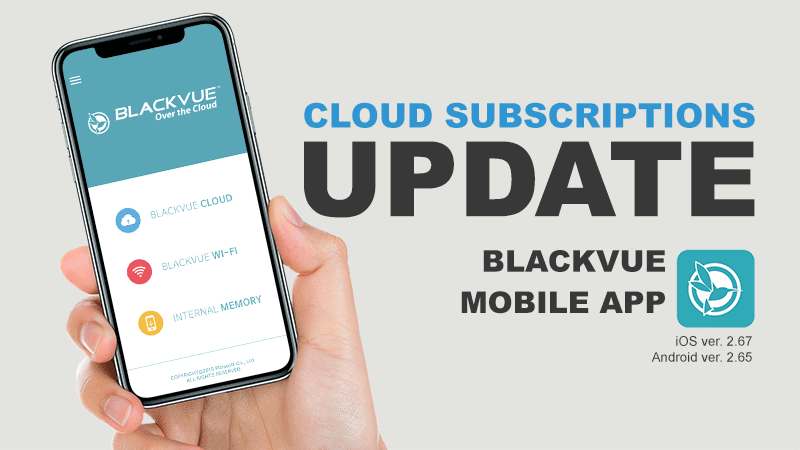 BlackVue App Update with Cloud Subscriptions: What You Need To Know