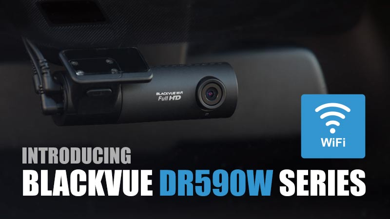 New DR590W Series: Simple Wi-Fi Dashcam